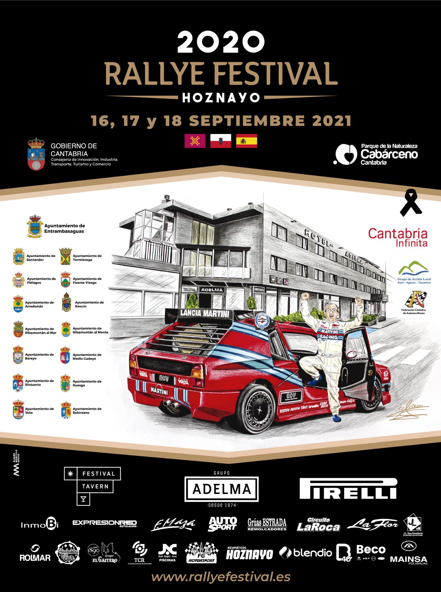 Rallye Festival Hoznayo 2021 [16-18 Septiembre] Cartel-hoznayo